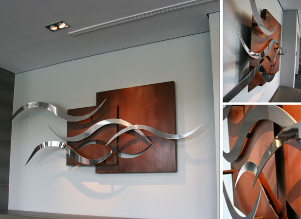 Wall sculpture Evolution II