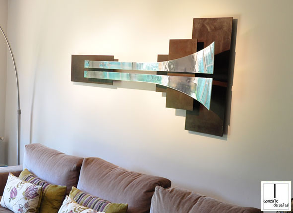 Wall sculpture Infinity