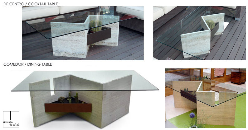 Ese Dining and coffee table